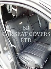 i - TO FIT A FORD MONDEO CAR, SINGLE SEAT COVER, FH BLACK ROSSINI SPORTS