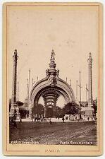 Paris Exposition, Porte Monumentale, PARIS, Vintage Photo, 1900