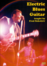 ELECTRIC BLUES GUITAR Instructional Video DVD Lesson with TABs by Fred Sokolow