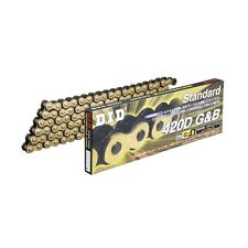 Standard Series Chain 420D Gold & Black [Clip (RJ) Joint Included] HONDA MTX50R