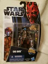 Star Wars CAD BANE Action Figure  Includes Blasters! The Clone Wars