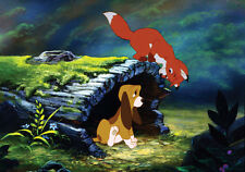 The Fox and The Hound cross stitch pattern
