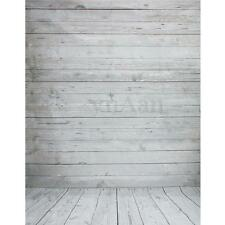 3x5ft Vintage White Wood Floor Backdrop Vinyl Photography Background Studio Prop