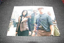 "YU NAN signed Autogramm auf ""THE EXPENDABLES 2"" Bild InPerson SYLVESTER STALLONE"