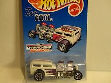 Hot Wheels Championship Auto Shows White Two Cool Way 2 Fast