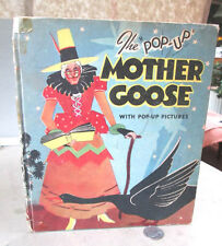 THE POP-UP MOTHER GOOSE,1934,Harold B. Lentz,1st Ed