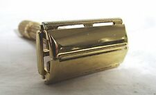 GILLETTE FAT BOY RAZOR D 3 GOLD PLATED