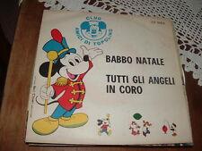 """ANGELA-I CLOWNS """"BABBO NATALE"""" FRANCO FRANCHI""""TUTTI GLI ANGELI IN CORO  ITALY'62"""
