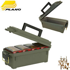PLANO SHOT SHELL CARTUCCIA AMMO BOX La Caccia Shooting Bloccabile Arrotonda BULLET caso