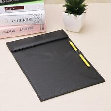 Business Office A4 Leather Files Paper Folder Writing Pad Tablet Drawing Board U