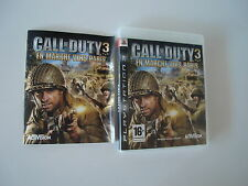 RARE ! Call of Duty 3 En Marche vers Paris Complet sur PS3 !!!!