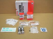 Tune Up Kit 1999-2009 Vstar 1100 Spark Plug Oil Air Fuel Filter Gaskets Oring