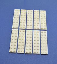 LEGO 10 x Platte 2x8 weiß | white plate (3034)