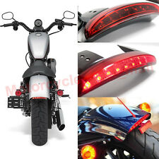 Motorcycle Chopped Fender Edge LED Tail Light for Harley Softail Slim FLS 2012up