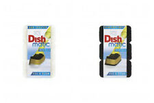 Dishmatic Non Scratch & Heavy Duty Scourer Refills. Total 6 pads. Ecofirendly.