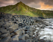 Framed Print - Ireland's Giant's Causeway (World Heritage Volcanic Site Picture)