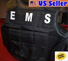 EMS TAGS // 3A SIZE XL Body Armor Bullet Proof / Stab Proof  Vest NEW!!!