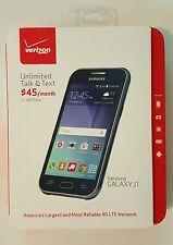 "New Verizon Prepaid Samsung Galaxy J1 Android 4G LTE 4.3"" 8GB cell smart phone"
