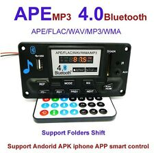 4.0 Bluetooth MP3 Decoding Board Module LED DIY AUX FM Folders Switch