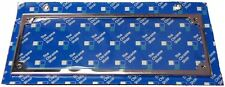 PAIR of Stainless Number plate frames with covers,Monaro,XY,XW,TRUCK,Torana,Chev