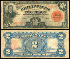 1936 US Philippines 2 Pesos Treasury Certificate Banknote #2