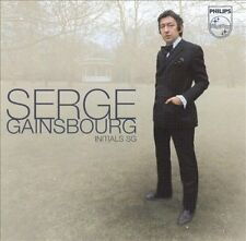 Initials S.G. by Serge Gainsbourg (CD, Feb-2003, Universal)
