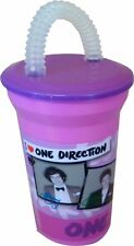 One Direction Pink Twisty Straw Tumbler Brand New Gift