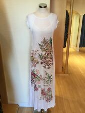 Aldo Martins Dress Size 10 BNWT Winter White Pink Green RRP £218 Now £85