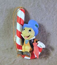 Disney Jiminy Cricket from Pinocchio Grolier/Scholastic Ornament w/ Box
