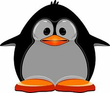 Penguin Cartoon Funky Funny Pingu Sticker Decal Graphic Vinyl Label