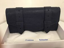 100% Authentic RRP 370£ Proenza Schouler PS1 New Continental Lux Nappa Midnight