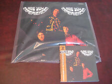 JIMI HENDRIX ARE YOU EXPERIENCED JAPAN OBI REPLICA CD + 200 GRAM NUMBERED LP SET