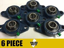 "(6 PIECES) 1-1/8"" 2 Bolt Flange Bearing, UCFL206-18 UCFL206"