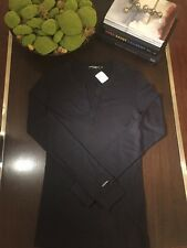 Brand New Never Worn Black Dolce and Gabbana mens pull over shirt Size 48, USA M