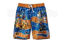 SFK MarioKart 7 Character Swim Trunks - Boy Orange kids shorts