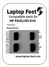 Rubber foot /  feet set compatible for HP Pavilion DV6 (4 pcs self adh by 3M)