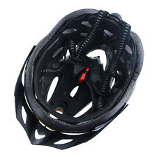 1x Cycling Mountain Bicycle Helmet Mens Women Security Carbon Visor Red