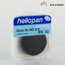 Heliopan 43mm Grau 8x ND 0,9 Filter Slim  for Leica Summilux-M 50 1.4 V1 V2 lens