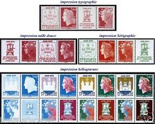 Série 14 Valeurs CHEFFER BEAUJARD 2010 N° 4459 à 4472