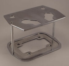 Billet Aluminum Optima Battery Tray Box Group 34/78 POLISHED CUSTOM SMOOTH TOP