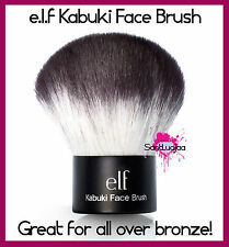 E.L.F. ELF KABUKI ALL OVER FACE BRUSH BRONZER POWDER FAT AIRBRUSH FINISH STUDIO