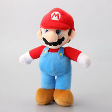 "Super Red Mario Bros. Stand LUIGI 10"" Plush Doll Stuffed Toy"