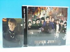 CD+PHOTO CARD Opera Eunhyuk SUPER JUNIOR JAPAN E.L.F Limited