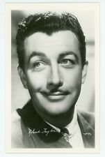 Real Photo postcard of movie star ROBERT TAYLOR