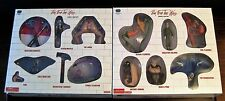 Pink Floyd Action Figures - The Wall SEG Box Sets - Series 1 & 2 - Unopened