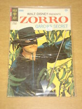 ZORRO #8 VG (4.0) WALT DISNEY GOLD KEY COMICS DECEMBER 1967