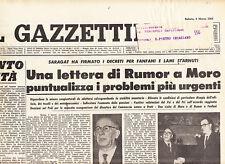 F1 IL GAZZETTINO N.55 DEL 6 MAR 1965 - LETTERA DI RUMOR PUNTUALIZZA I PROBLEMI