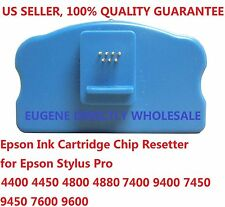 Epson Ink Cartridge Chip Resetter 4400 7600 9600 4800 4880 7800 9800 7880 9880 +