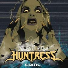 Static (Ltd.First Edt.) von Huntress (2015) CD + Bonustrack  NEU  /  SEALED