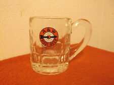 "VINTAGE  ""A & W"" CLEAR GLASS   SMALL   ROOT BEER MUG...#2"